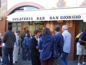Gelateria in Portofino, Liguria, Italy