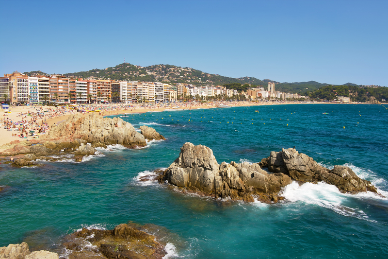 Lloret de Mar, Costa Bravo, Spain