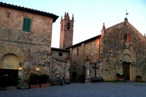 Monteriggioni Church, Tuscany, Italy