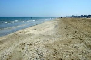Rimini beach, Rimini, Italy