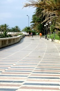 San Remo Boardwalk, Liguria, Italy