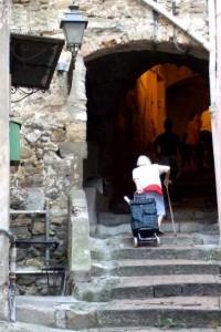 San Remo in La Pigna, Liguria, Italy