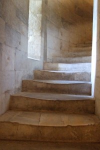 Stairs, Leaning Tower of Pisa, Italy