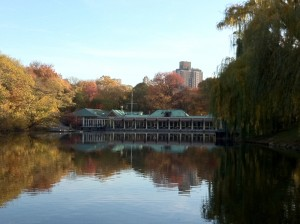 Boathouse Restaurant, Central Park New York