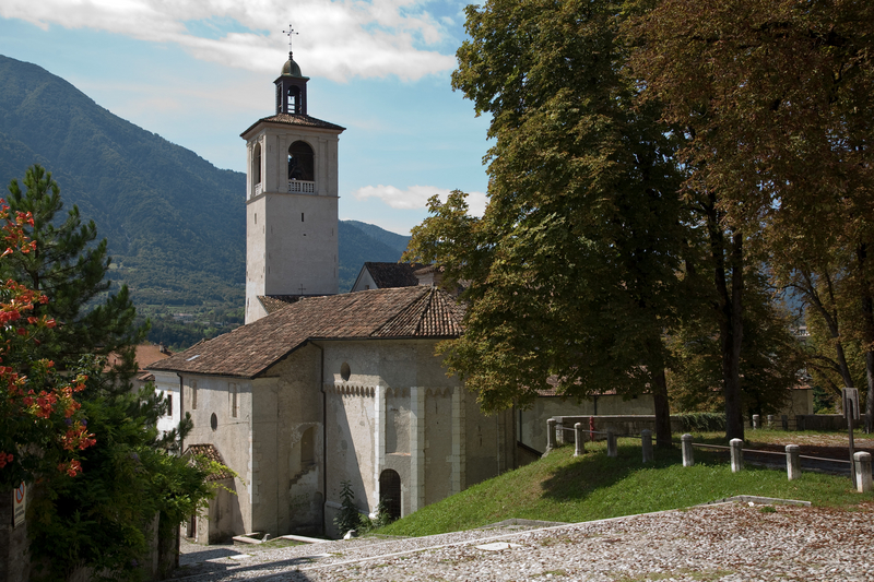 Church in Feltro, Italy