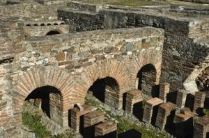 Roman ruins near Beja, Portugal