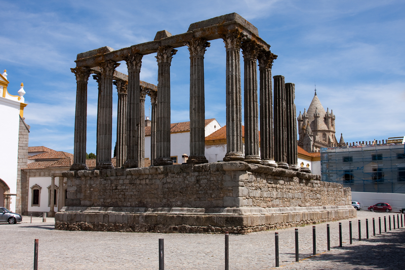 'TEMPLE OF DIANA', EVORA, PORTUGAL