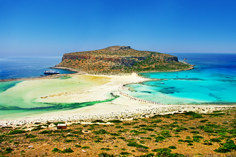 Balos Bay, Crete, Greece