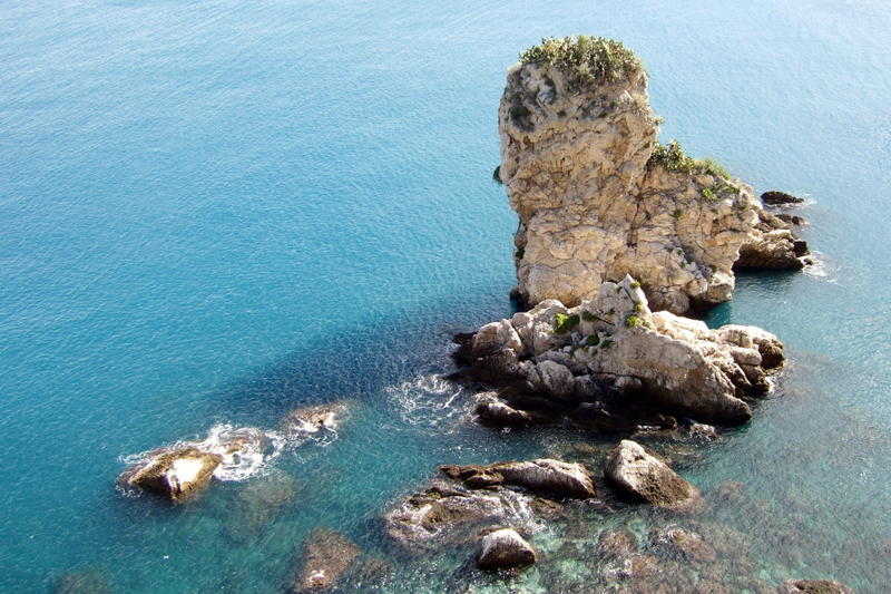Beautiful Ionian Sea, Taormina, Sicily, Italy