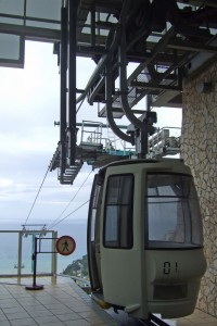 Cable Car Taormina, Sicily, Italy