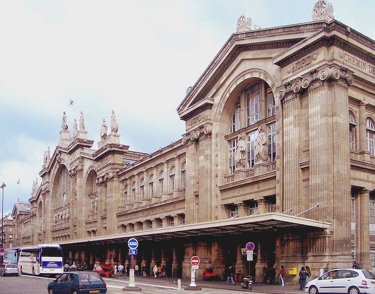Gare du Nord, Train Station, Paris, France