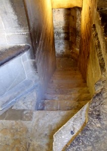 Narrow Staircase, Florence's Campanile - Giotto's Bell Tower, Italy