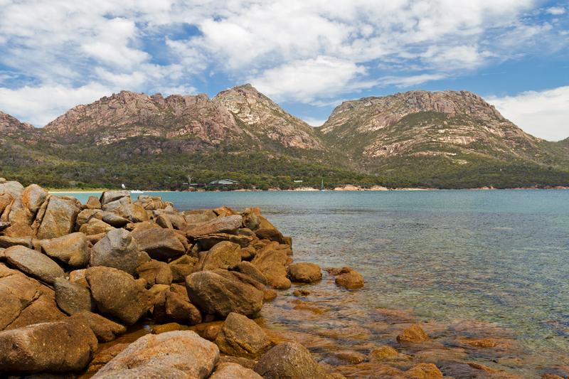 Scenic Oyster Bay, Tasmania