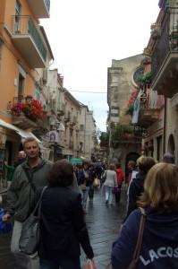 Taormino Corso Umberto, Sicily, Italy