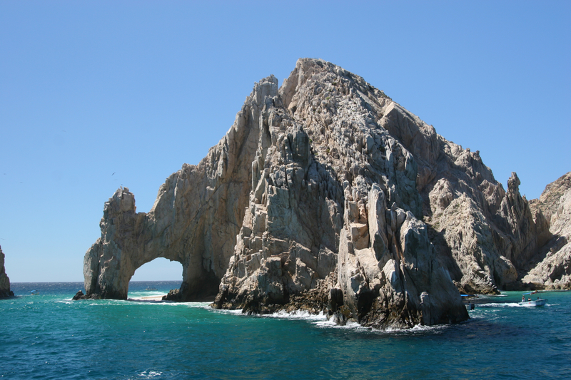 The famous Los Arcos at Land's end in Cabo San Lucas, Mexico.