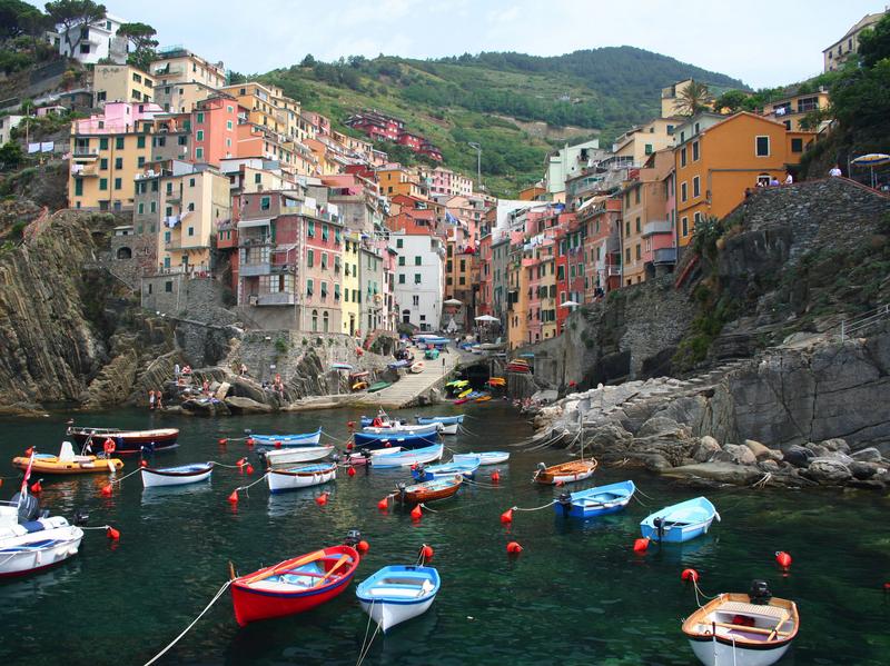 Village of Riomaggiore, Cinque Terre, Italy
