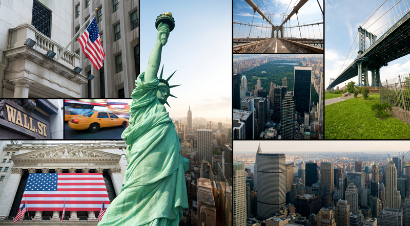 A Collage of New York City