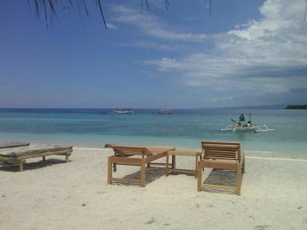 A Quite Day on Gili, Indonesia