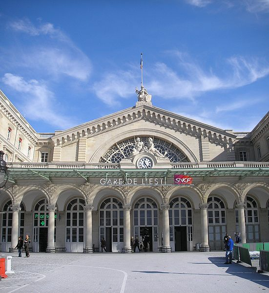 Gare de l'Est, Train Station, Paris, France