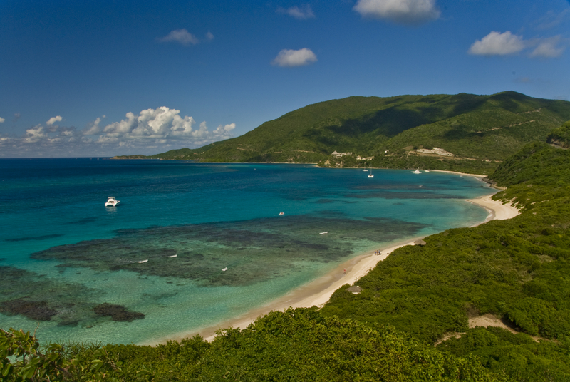 Off The Coast Of Virgin Gorda, British Virgin Islands