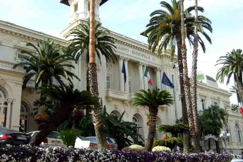 San Remo Casino, Liguria, Italy md