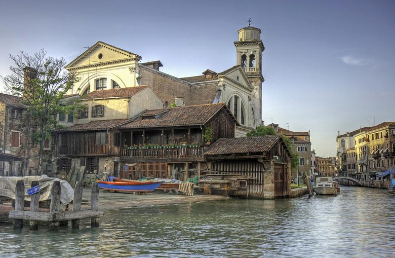 Squero Di San Trovaso, Dorsoduro, Venice, Italy