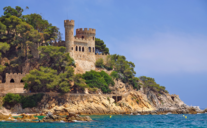 The Castle of Lloret de Mar, Costa Brava, Spain