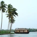 Backwaters of Marari, Kerala, India