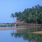Baga Beach located in India, district Goa