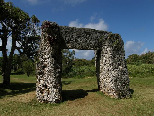 Ha'amonga a Maui, Niutoua, Tonga