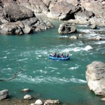 River rafting in the river Ganges, Rishikesh, India