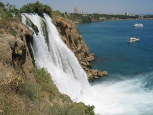 Waterfall of Antalya,Turkey
