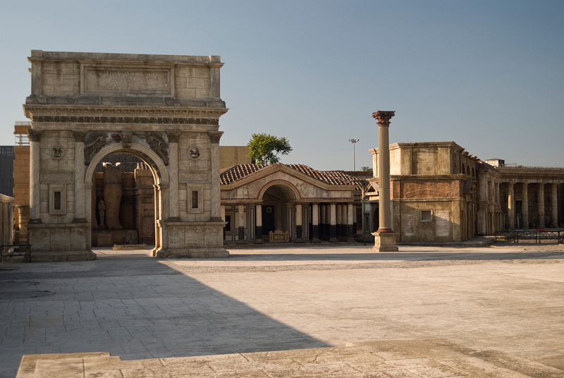 Cinecittà Movie Studios Rome Italy