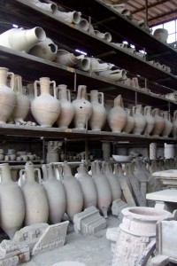 Pompeii Pottery, Italy