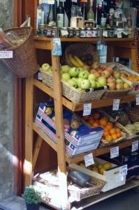 Shop in Manarola - Cinque Terre Italy