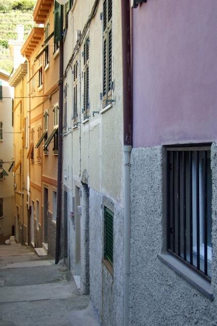 Street in Manarola - Cinque Terre Italy