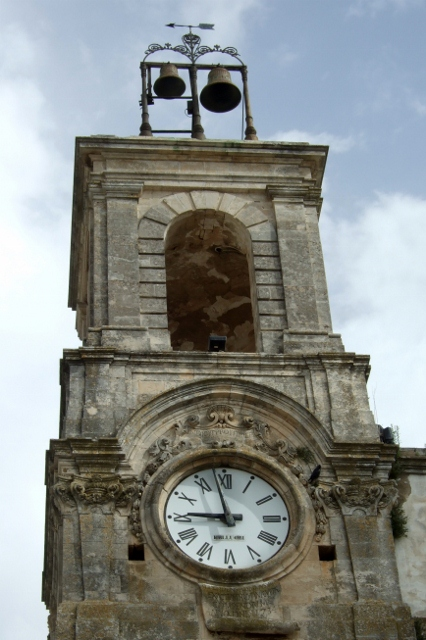 Clock Tower in Martina Franca, Puglia, Italy