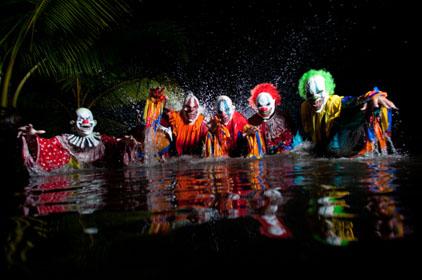 Creeps in the Lagoon, Polynesian Cultural Center in Hawaii