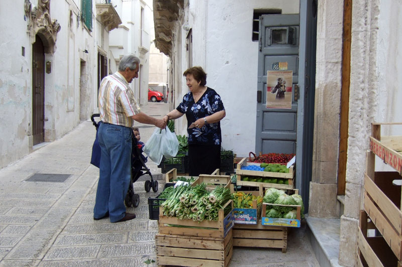 On the streets of Martina Franca, Puglia, Italy