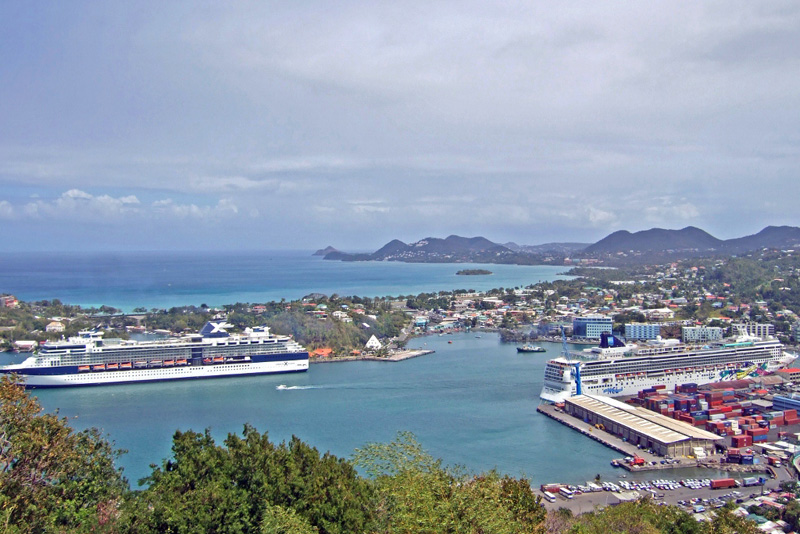 Port of Castries, St Lucia
