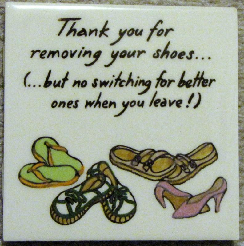 Shoes Sign Hawaii