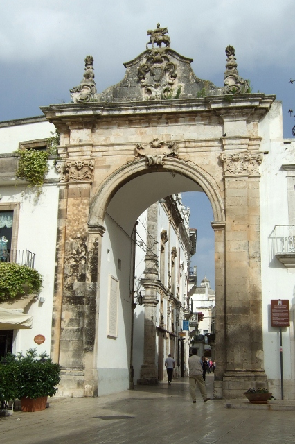 St Anthony Arch in Martina Franca, Puglia, Italy