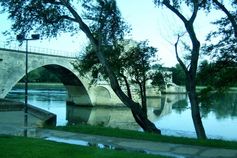 Bridge in Avignon, France