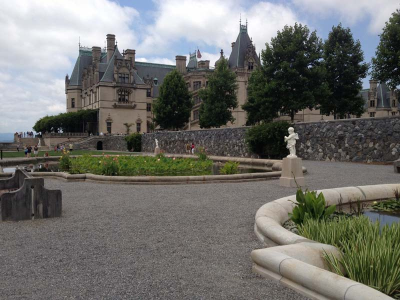 Gardens and Biltmore Estate, Ashville, North Carolina