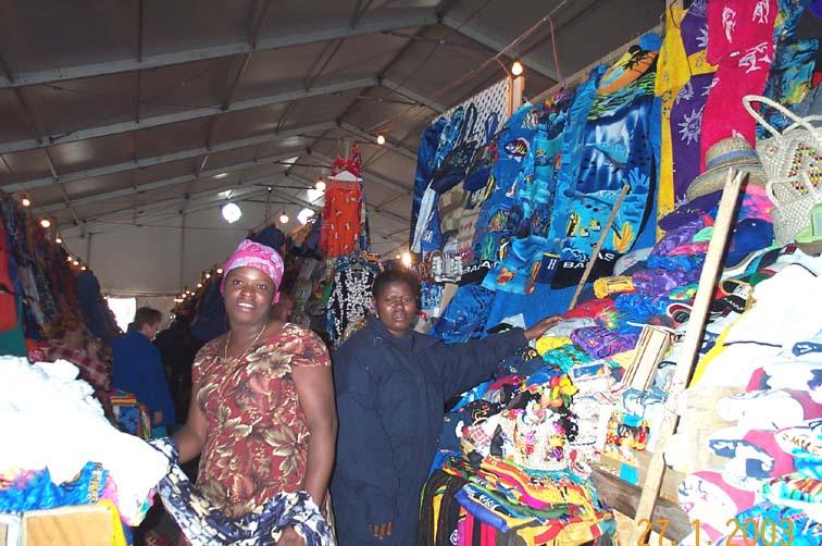 Nassau straw market, Nassau, Bahamas