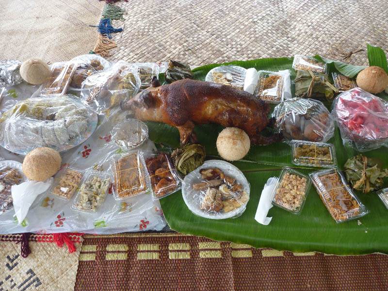 New Year Feast Tonga