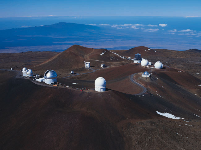 Observatories on Mauna Kea, Hawaii