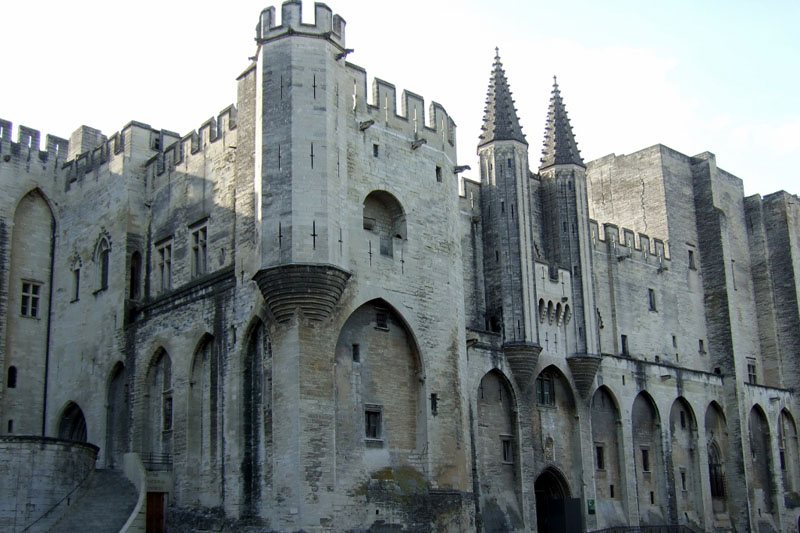 Palais des Papes Avignon, France