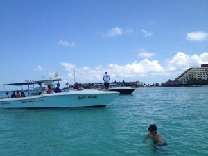 Panga Boat Isla Mujeres, Mexico