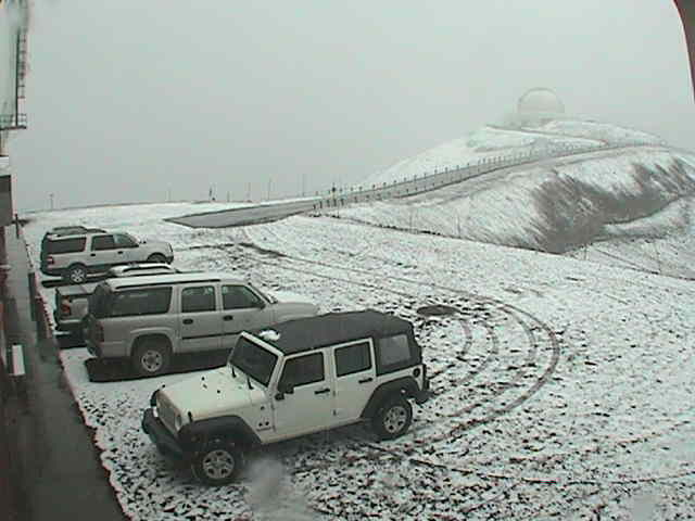 Snow on Maunu Kea, Hawaii